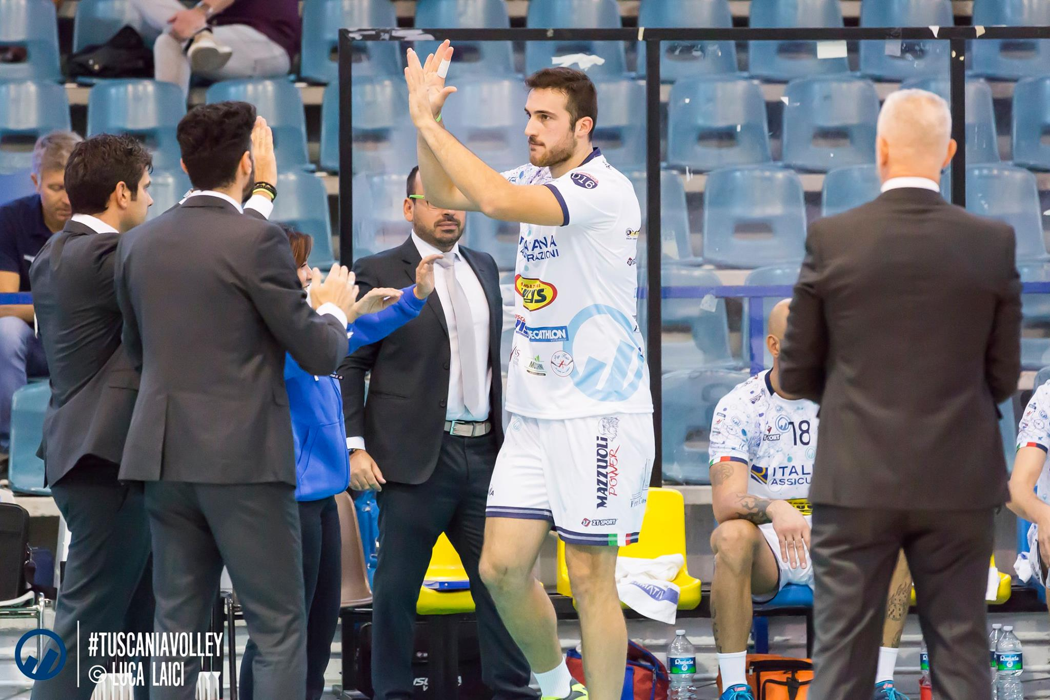 """""""Troveremo un palazzetto molto caldo"""" ad introdurci il match con Spoleto è l'ex di turno, Roberto Festi."""