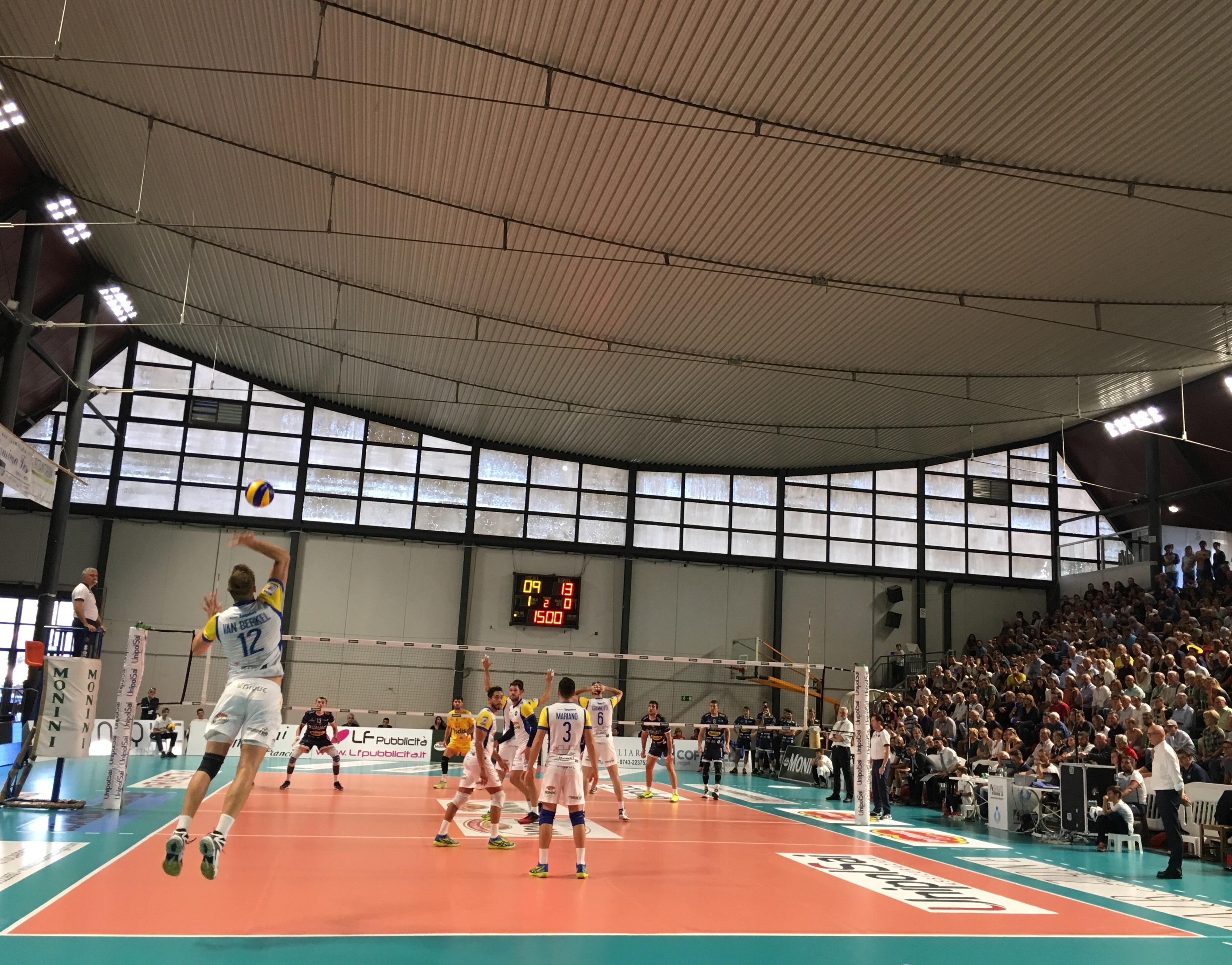 Tuscania vince e convince. Violato il Palarota di Spoleto