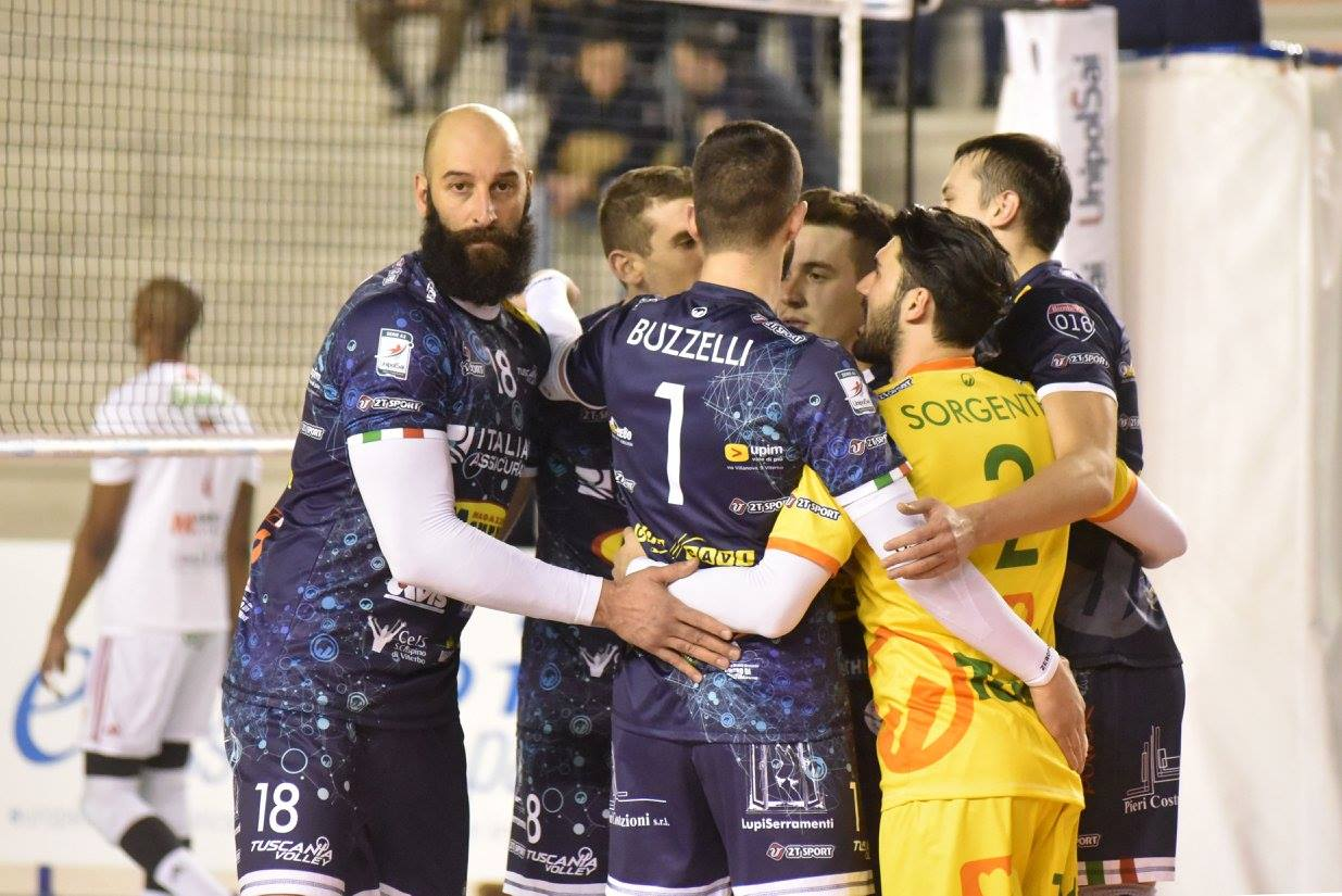 Tuscania parte forte ma Gioia vince (3-1) al PalaCapurso