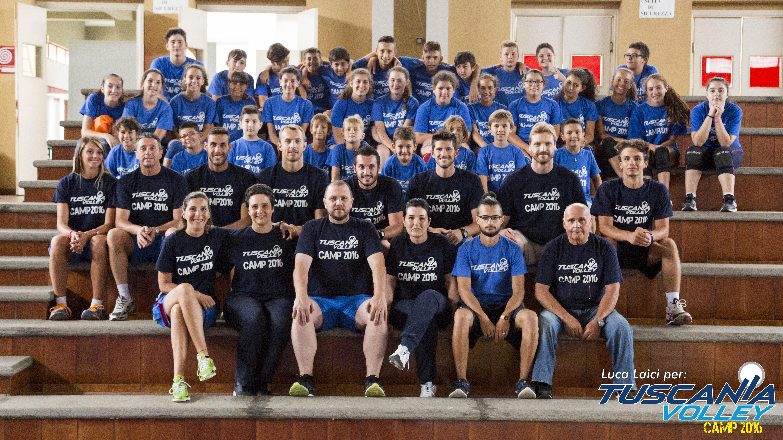 Quante iscrizioni al Tuscania Volley Camp 2018!