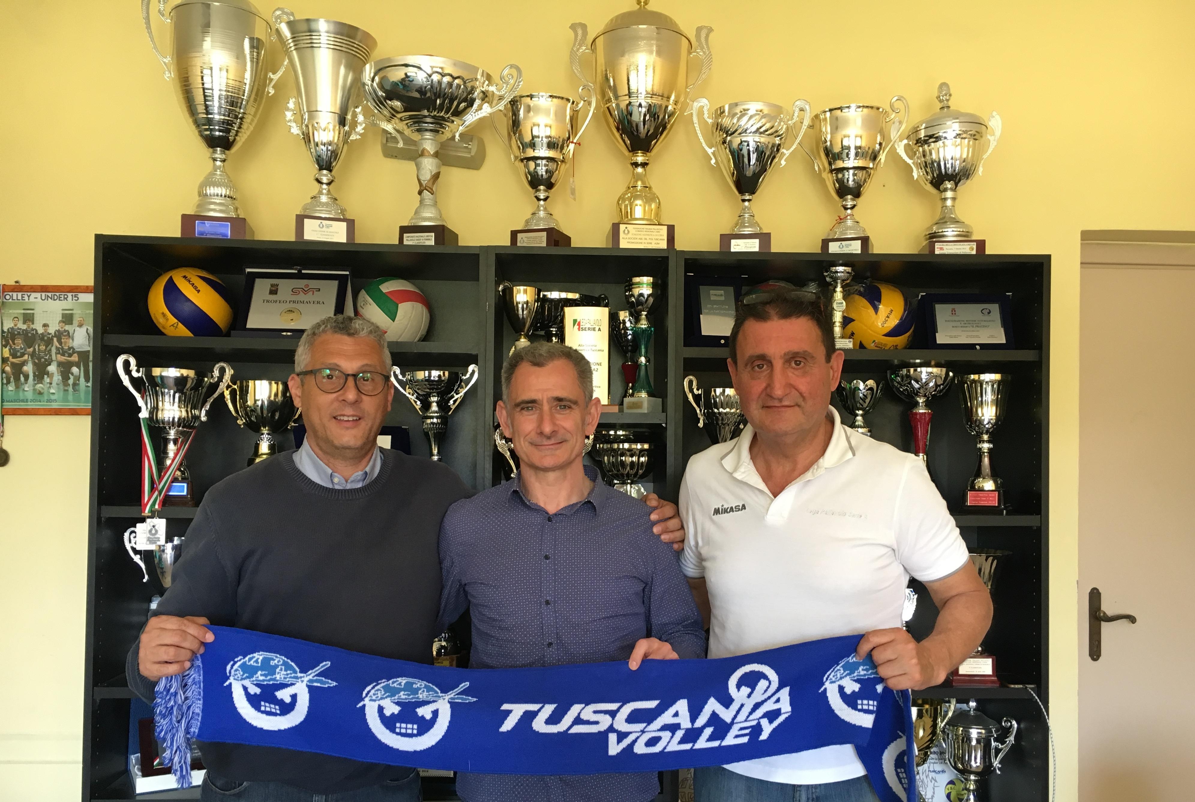 Ecco il nuovo allenatore del Tuscania Volley