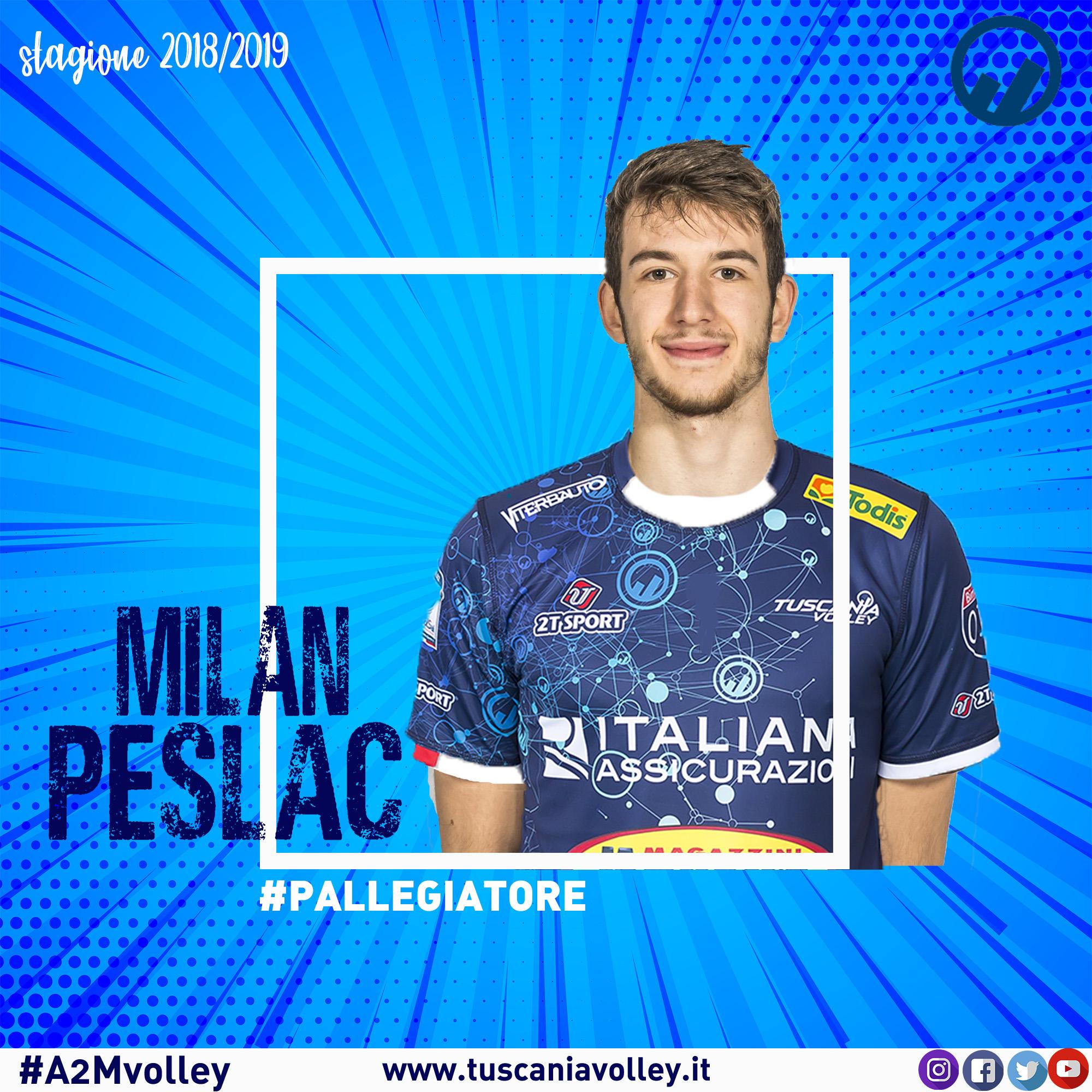 Il talento di Milan Peslac alla corte di Bruno Morganti