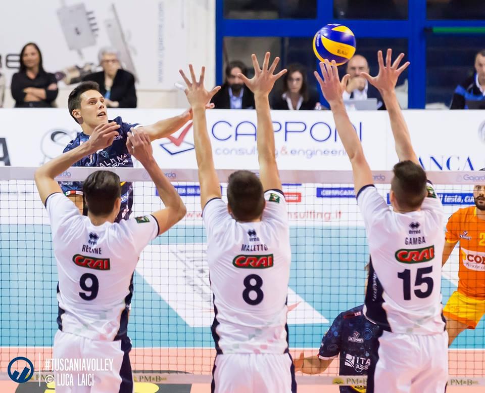 Tuscania Volley, a Pordenone in cerca di riscatto
