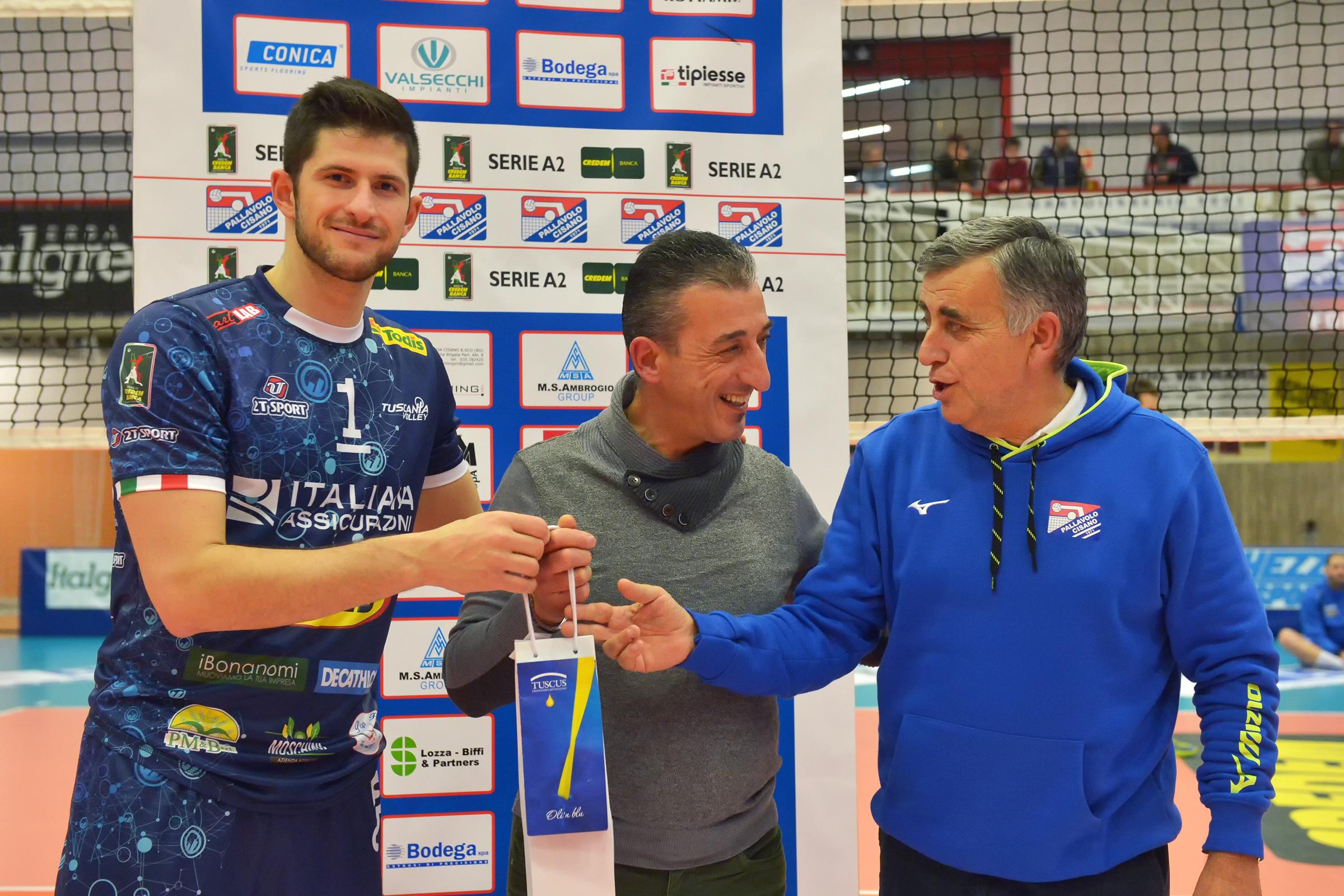 Tuscania Volley, fuori casa non va