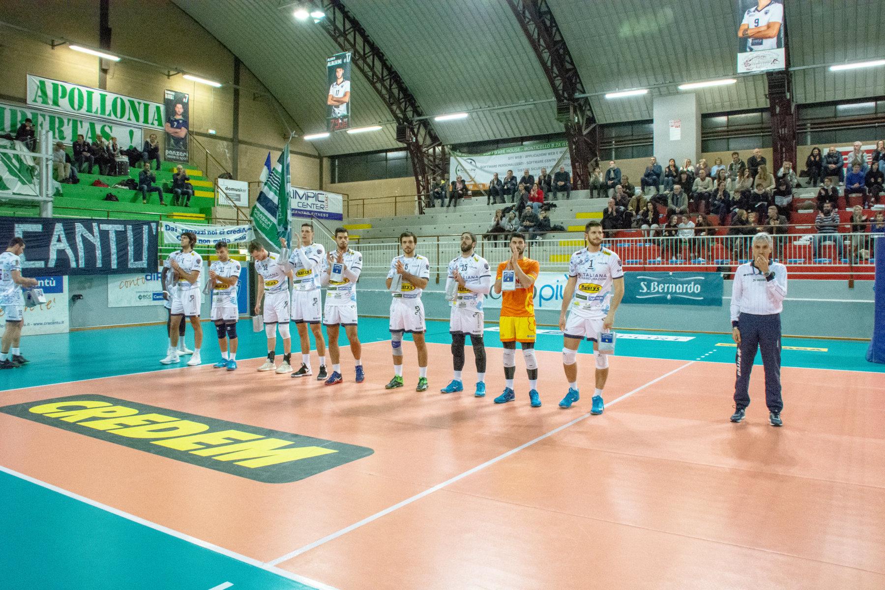 Tuscania le prova tutte, ma il match va a Cantù