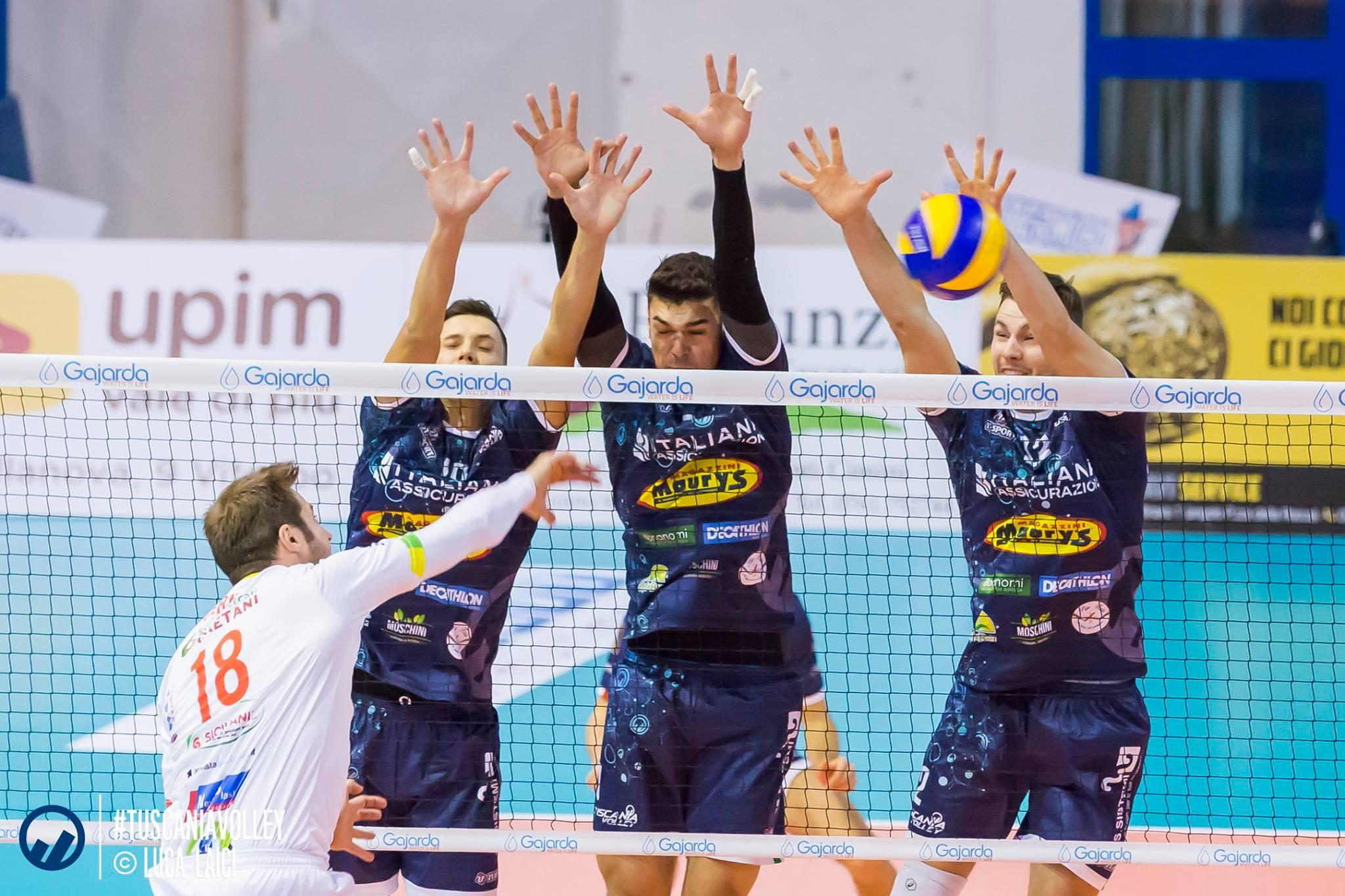 Tuscania non molla ma il match va a Castellana